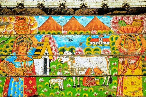 Painted Ladies – The Hidden Depths of Indian Truck Art