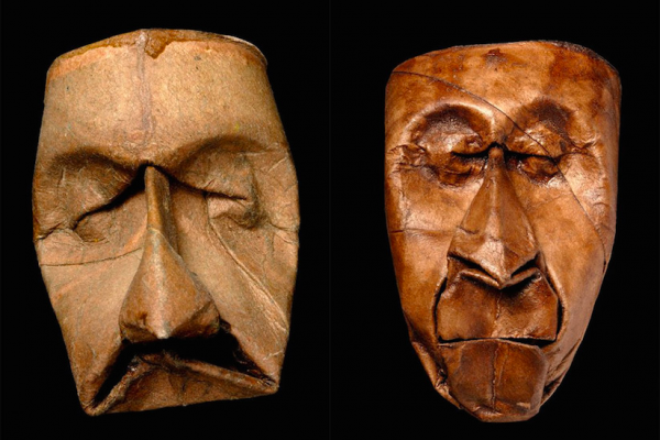 Sculpting faces with empty toilet paper roll tubes | Junior Fritz Jacquet