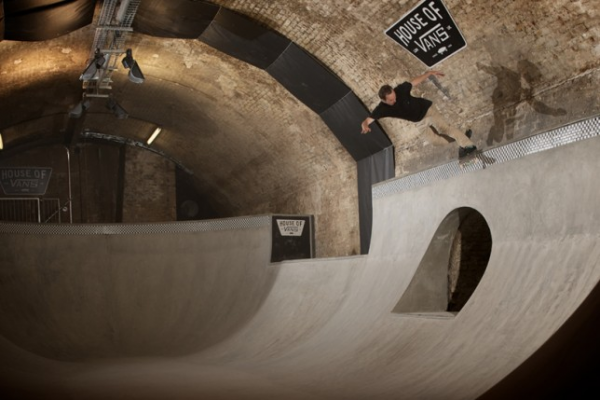 London's First Indoor Skate Park Opens Under Waterloo Station