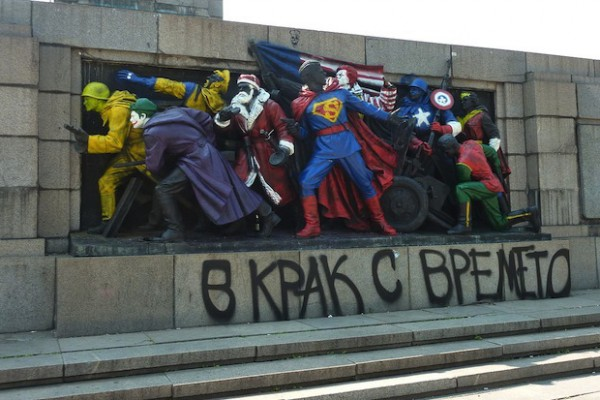 Russia is Furious Over Soviet Monument Vandalization in Bulgaria