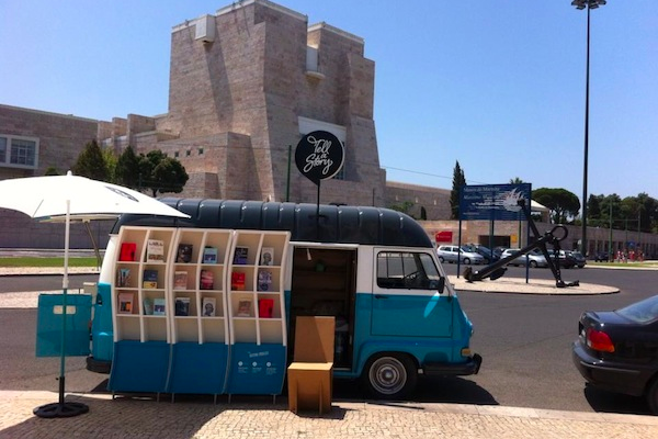Nomadic Bookstore Carries Literature Around Lisbon