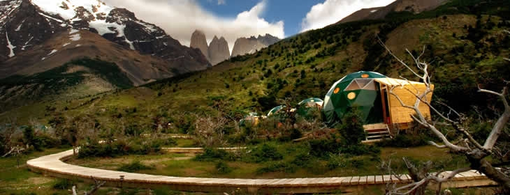 nature of Patagonia, Chile with Eco Camping bizarre culture