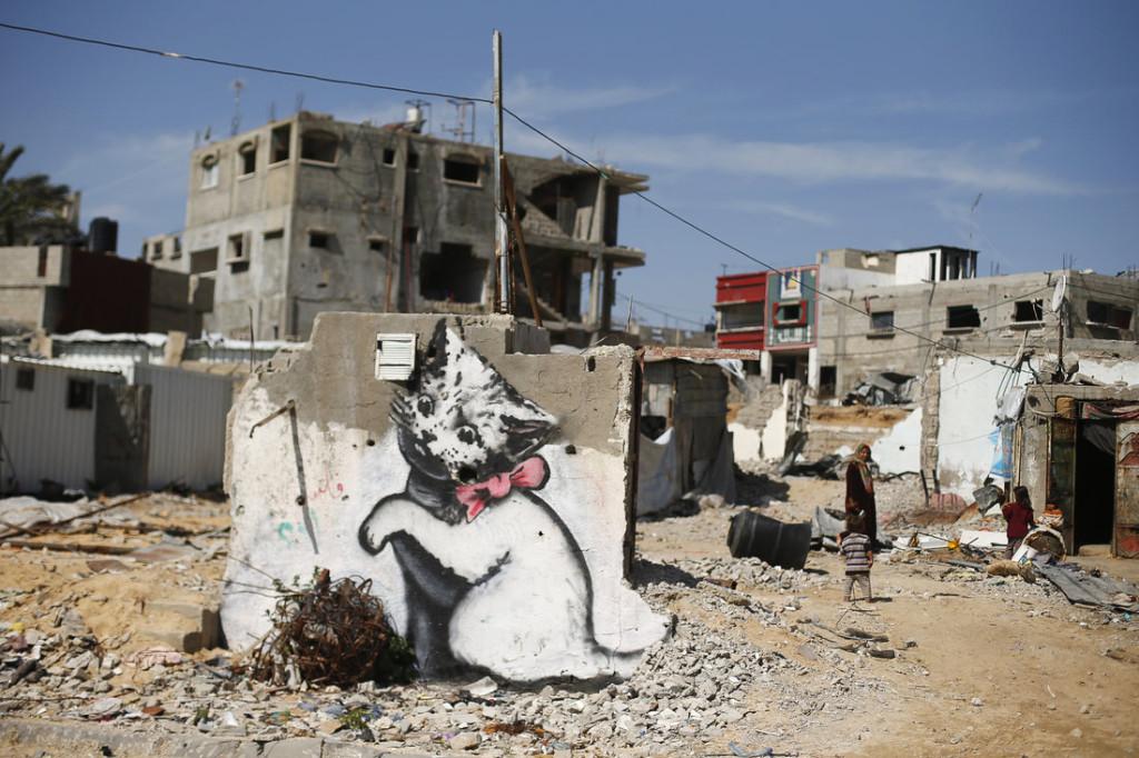Bizarre Culture Banksy