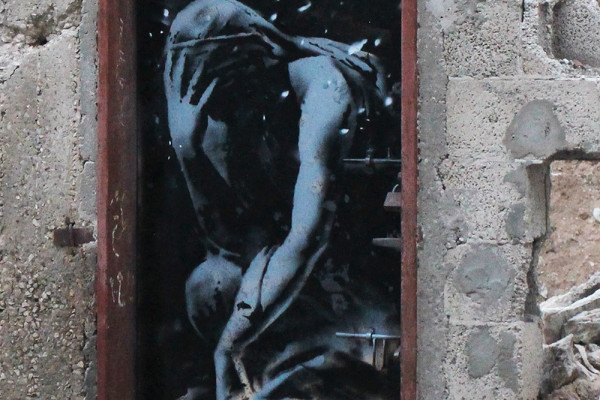 Banksy in Gaza: Watch a short documentary detailing the horrors of Gaza