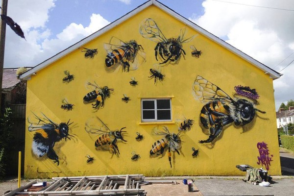 The Purpose of Street Art: Saving Humanity, One Bee at a Time
