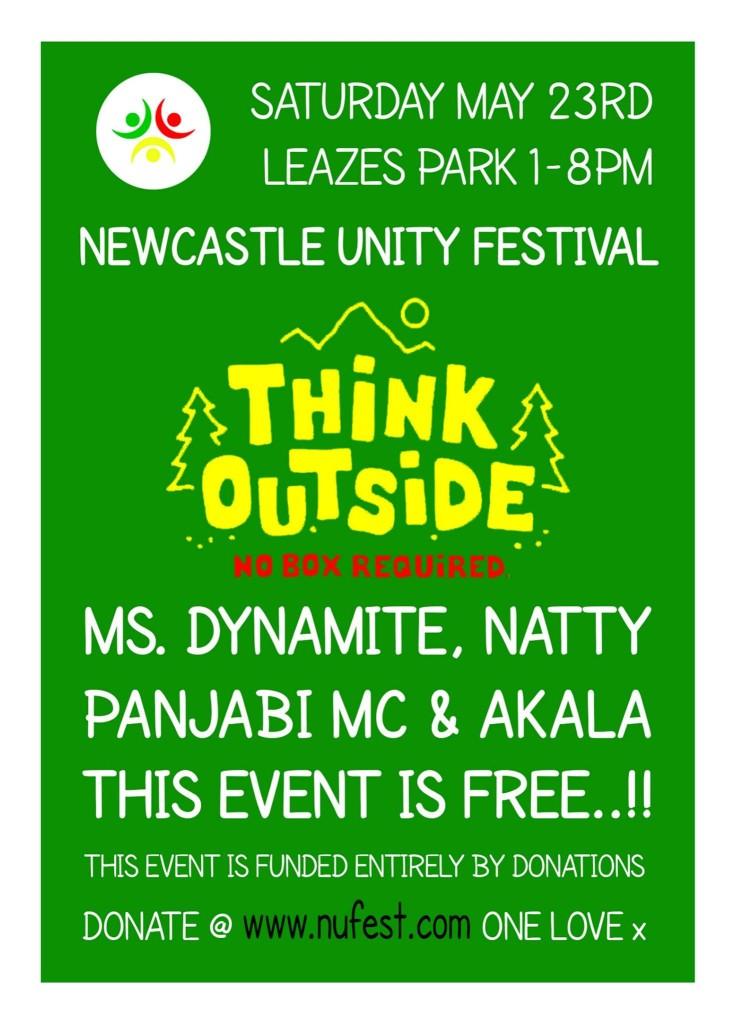 Newcastle unity festival