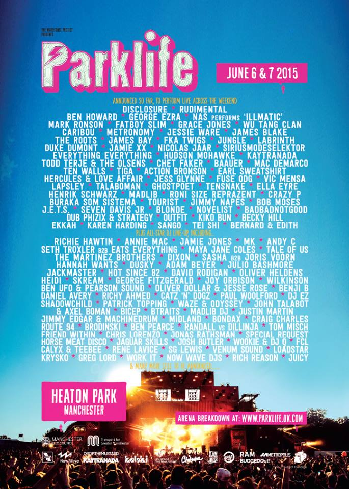 Parklife 2015 review preview line up tickets