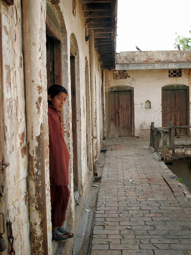 stephan Bailey in Pakistan