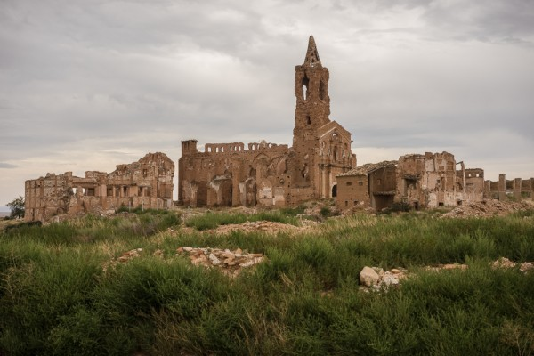 The ruins of Belchite: Ghostly Reminder of the Spanish Civil War