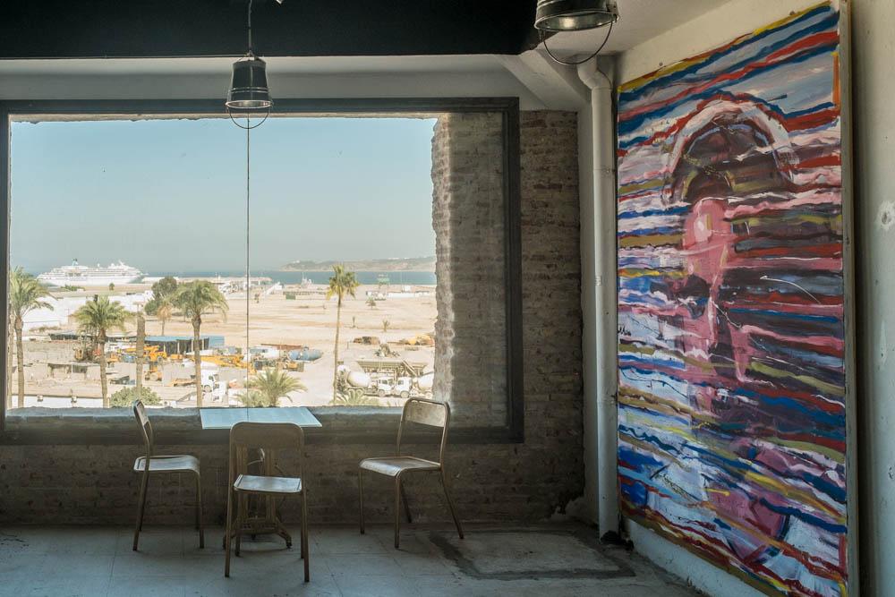 Border Art Factory in Tangier