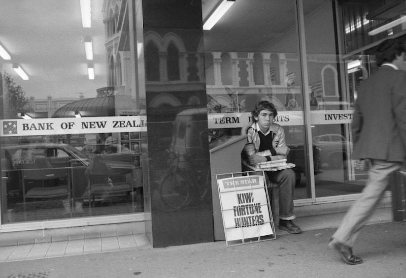 David Cook- Meet me in the Square, Christchurch 1983-1987 1-min