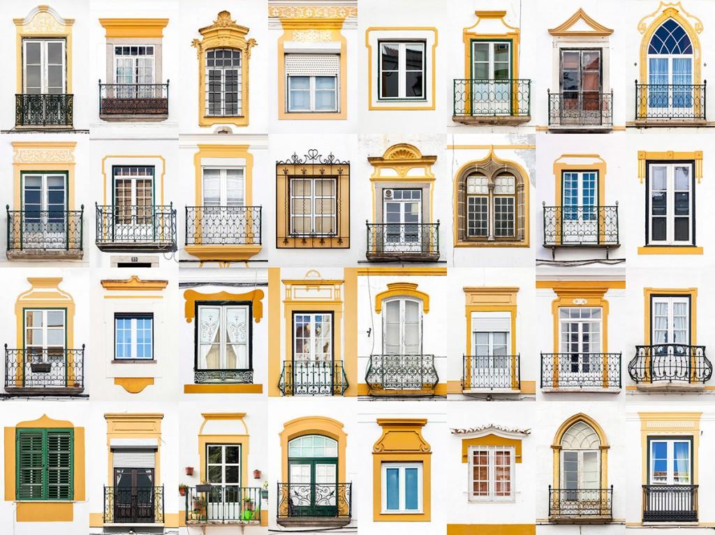 Windows of Évora