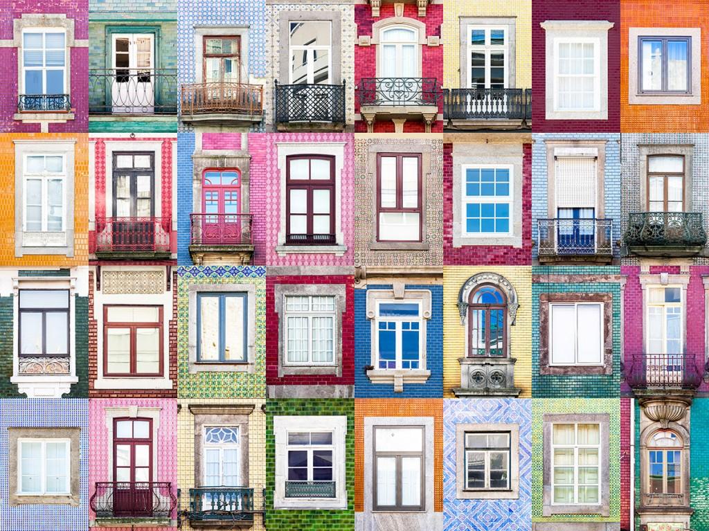 Windows in Porto