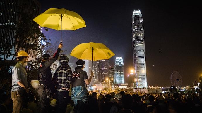 Hong Kong Umbrella Revolution. Photo by Studio Incendo via Flickr.